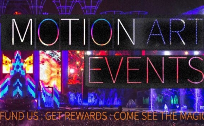 Motion Art Events - Projection art funding