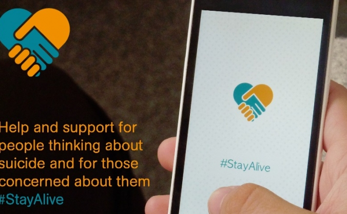 Stay Alive - UK's 1st Suicide Prevention App