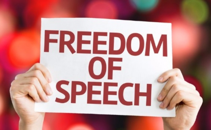 SAVE FREEDOM OF SPEECH