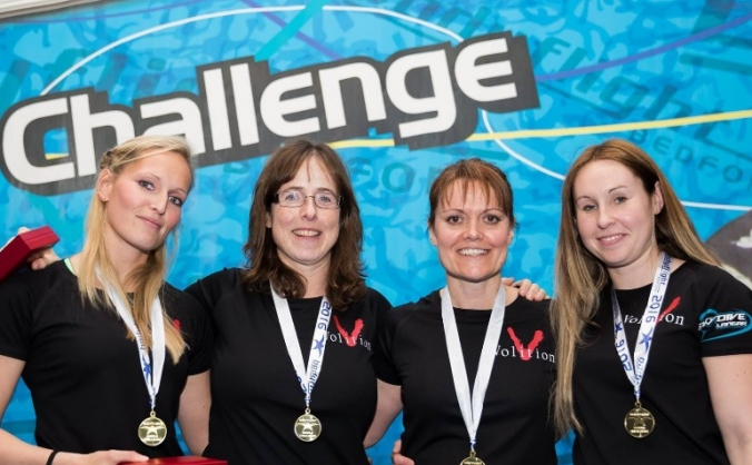 British Female Indoor Skydive Team World Cup entry
