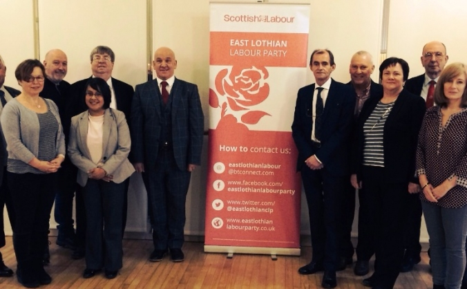 East Lothian Labour Council Election Campaign
