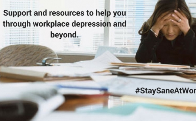 Stay Sane at Work Website