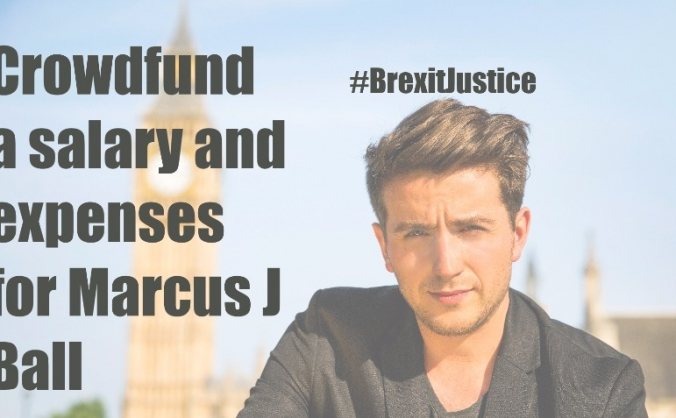 Crowdfund a salary & expenses for Marcus J Ball