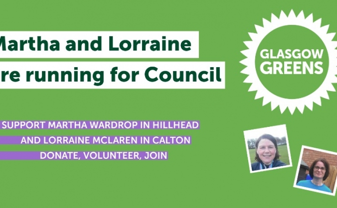 Martha and Lorraine are Running for Council