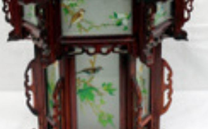 Oriental lampshades