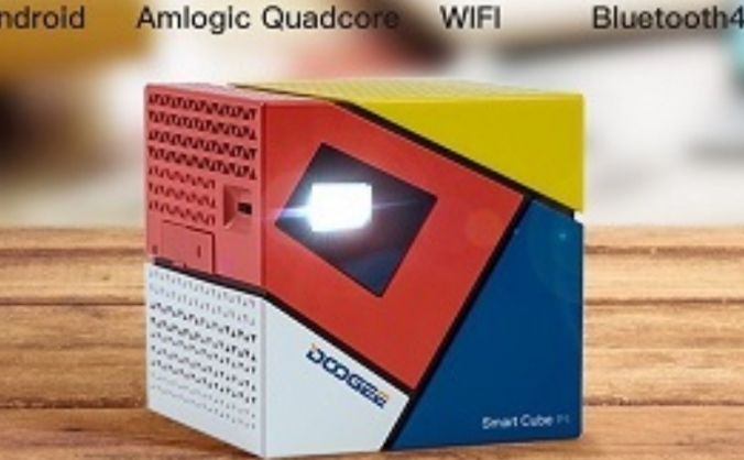 DOOGEE Smart Cube - The World's Smallest Projector