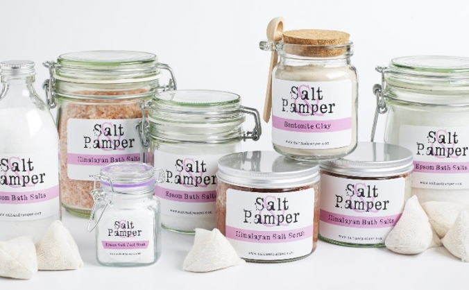 Salt & Pamper product development and expansion