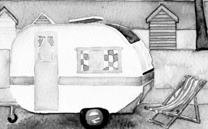 Cornish Dawn (Vintage Caravans with a difference)