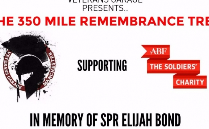 THE 350 MILE REMEMBRANCE TREK