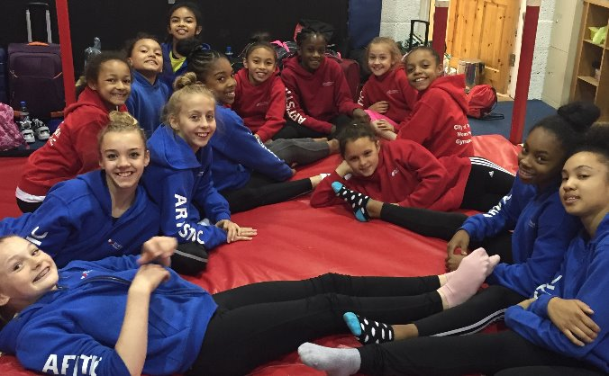 Help our Elite Gymnasts to compete in America