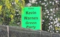 Elect Kevin Warnes as Shipley's new Green MP