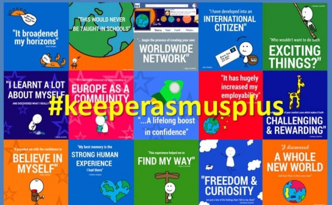 Keep the UK in the Erasmus Plus programme!