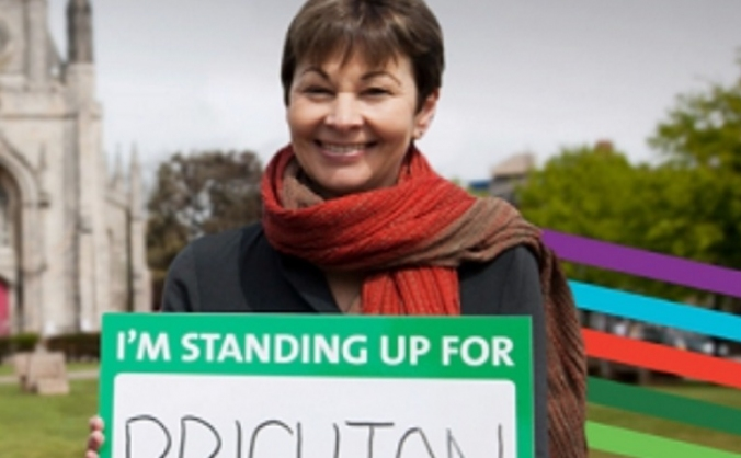 Re-Elect Caroline Lucas in Brighton Pavilion 2015
