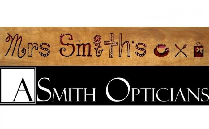 Mrs Smith's Cafe & A Smith Opticians, Jennyfields