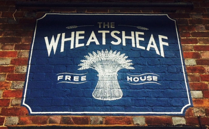Finishing The Wheatsheaf
