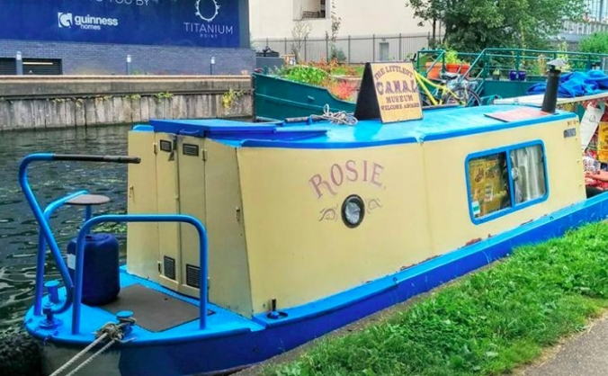 Rosie the Littlest Canal Museum