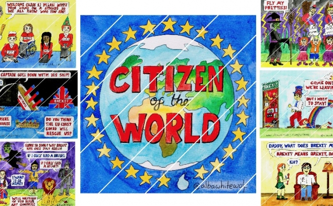 Brexit cartoons and Brexmas cards
