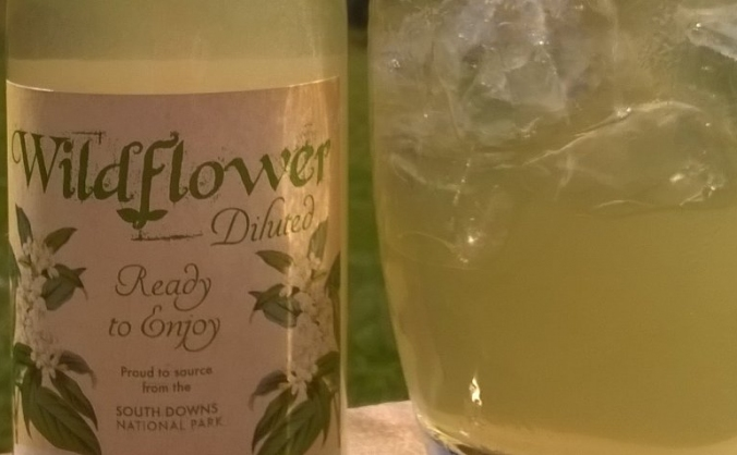 wildflower low sugar  foraging cordial
