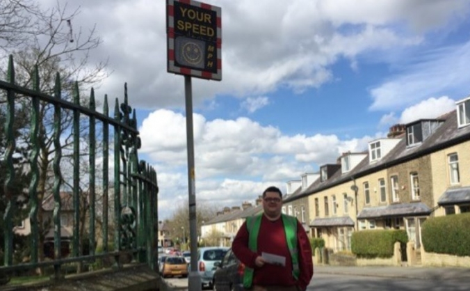Road Safety in Burnley - Electronic Speeding Signs