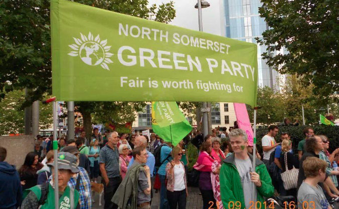 Help The Green Party participate in North Somerset