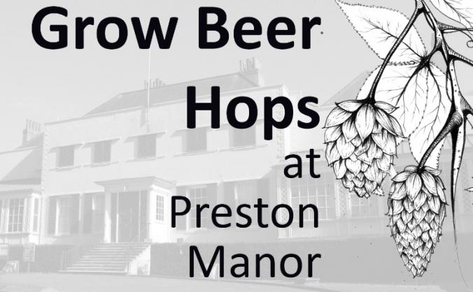 Beer Hops for Preston Manor Gardens and Brighton