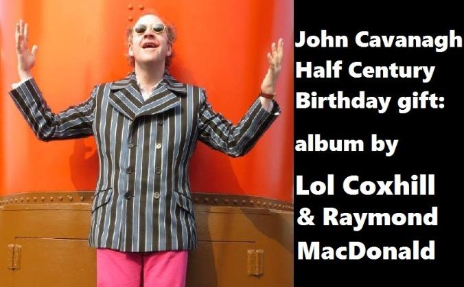 Cavanagh Half Century gift: album by Lol Coxhill