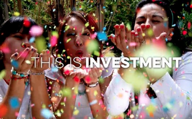 #InvestInHappy
