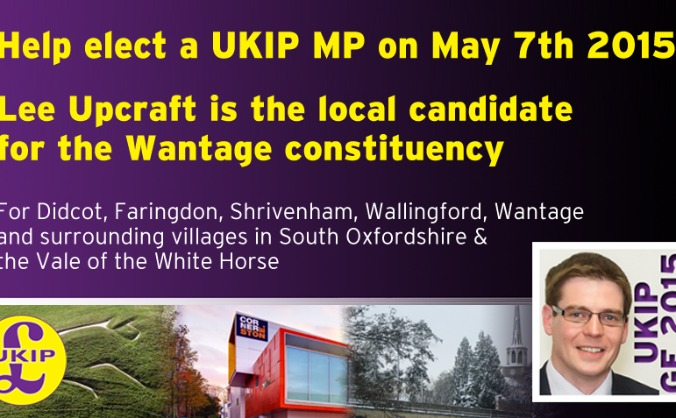 Help elect a UKIP MP in the Didcot & Wantage Areas