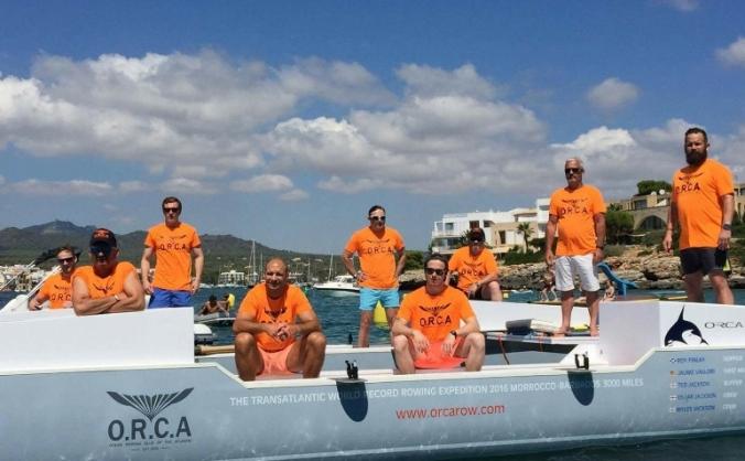 Atlantic rowing record 2