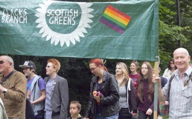 Elect Clacks First Green Councillors