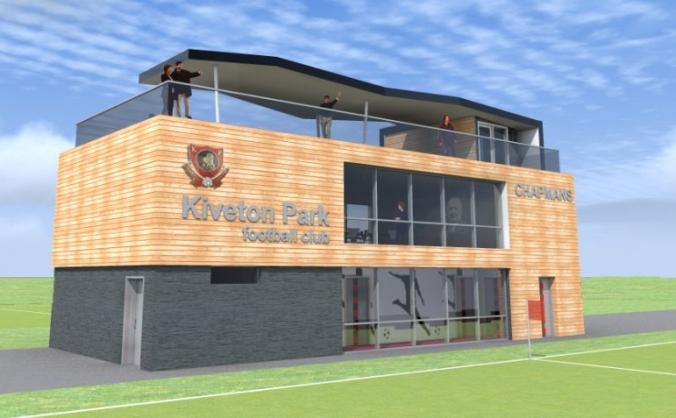 New Club House at Hard Lane for Kiveton Park FC