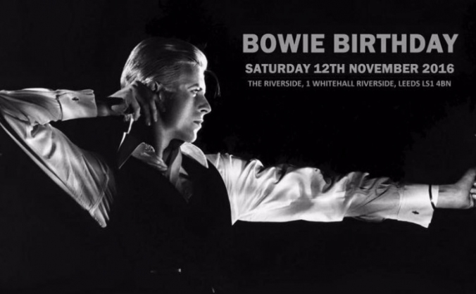 Mark's Bowie Birthday - Cancer Research