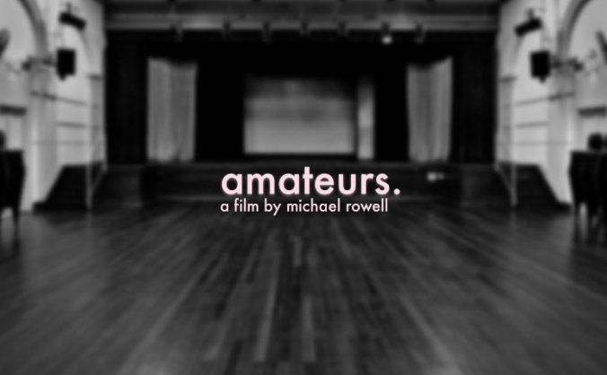 Amateurs - Short Drama Film