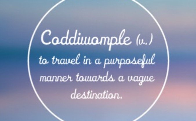 Start up Coddiwomple Tours