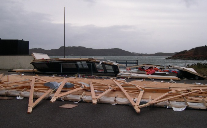 Rebuild Gairloch Marine Life centre