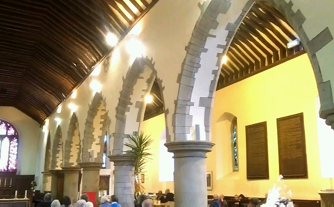St Mary's Church  Brecon Roof  Appeal 2015