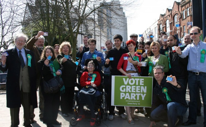Give everyone a chance to vote Green in 2015