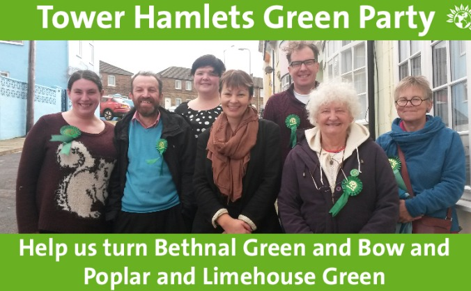 Help turn Tower Hamlets Green this May!
