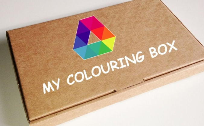 My Colouring Box Monthly Subscription Box