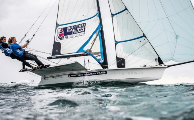 British Sailing Team girls aiming for Tokyo 2020