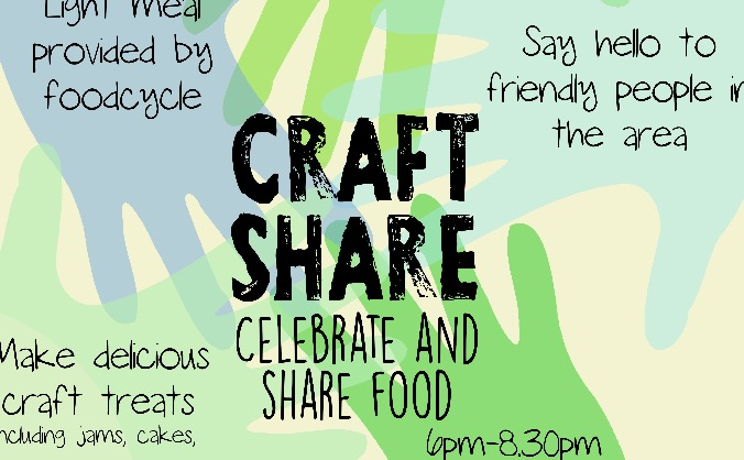 Craft share - fun community-based event in Bristol