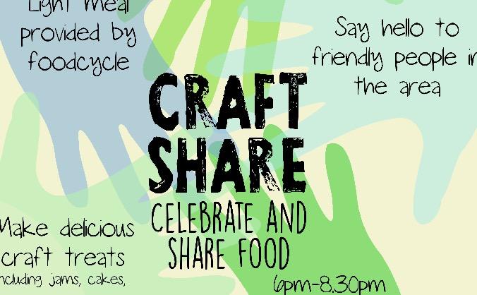 Craft share - fun community-based event in Bristol