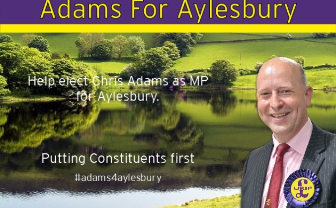 Elect Chris Adams in Aylesbury 2015