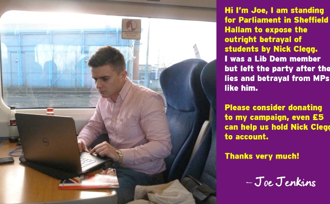 Elect Joe Jenkins for Sheffield Hallam