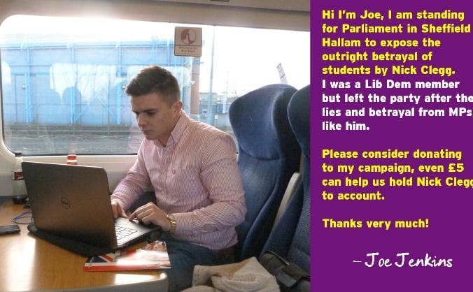 Elect Joe Jenkins for Sheffield Hallam