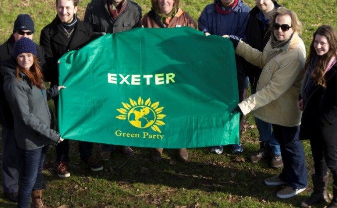 Exeter Green Party 2015 Election Campaign