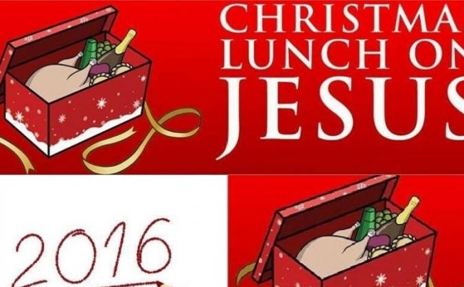 Christmas Lunch on Jesus (CLOJ) 2016