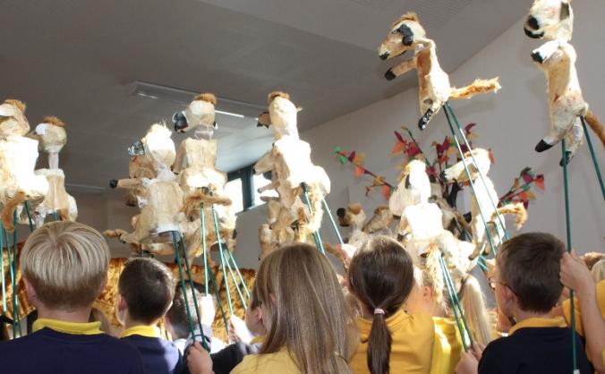 Creation Myth Puppets- The Imagination Laboratory!