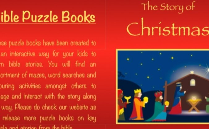 Christian Puzzle Books for Kids