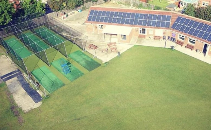 Barton Town Cricket Club - Net Refurbishment